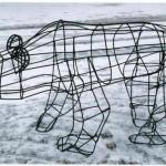 Топиарная фигура - Медведь